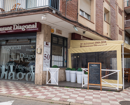 Restaurant diagonal